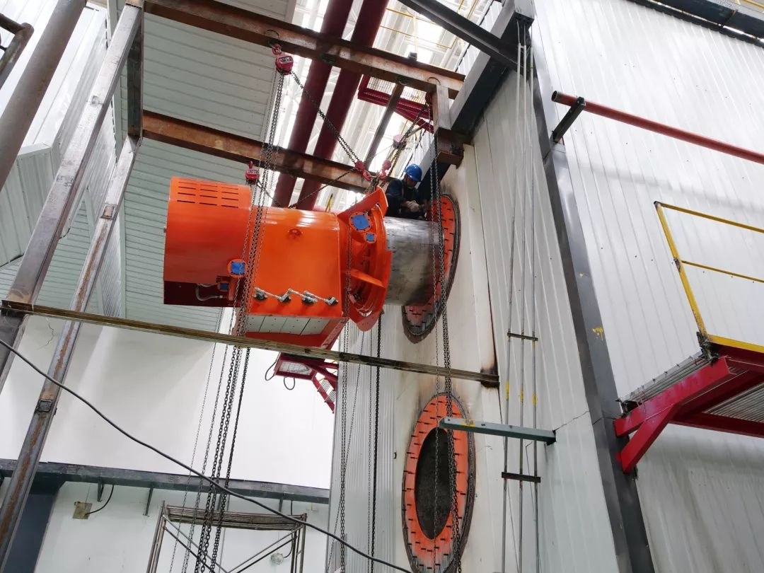 大龙供热燃气锅炉房低氮改造项目本月完工图片
